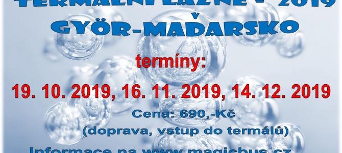 Termální lázně  GYÖR, Maďarsko